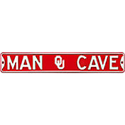 Authentic Street Signs Oklahoma Sooners 'Man Cave' Street Sign