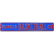 Authentic Street Signs Kansas Jayhawks 'Kansas Basketball Ct' Sign