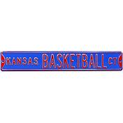 Authentic Street Signs Kansas Jayhawks 'Kansas Basketball Ct' Sign