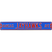 Authentic Street Signs Kansas Jayhawks Avenue Sign