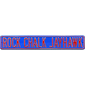 Authentic Street Signs Kansas Jayhawks 'Rock Chalk Jayhawk' Street Sign