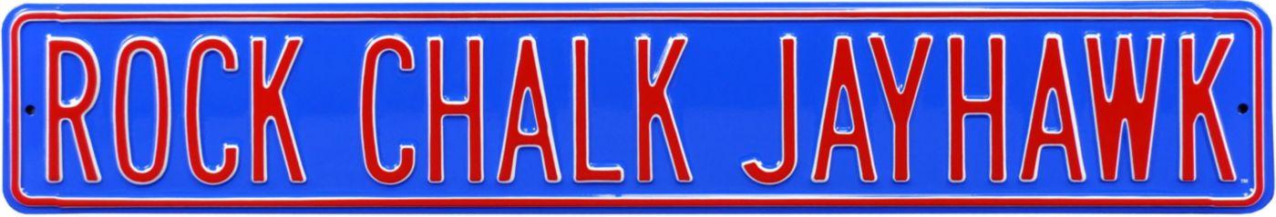 Authentic Street Signs Kansas Jayhawks 'Rock Chalk Jayhawk' Street Sign