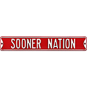 Authentic Street Signs Oklahoma Sooners 'Sooner Nation' Street Sign