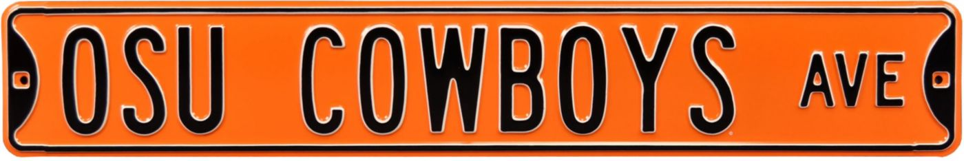 Authentic Street Signs Oklahoma State Cowboys Avenue Sign