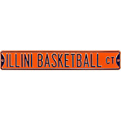 Authentic Street Signs Illinois 'Illini Basketball Ct' Sign