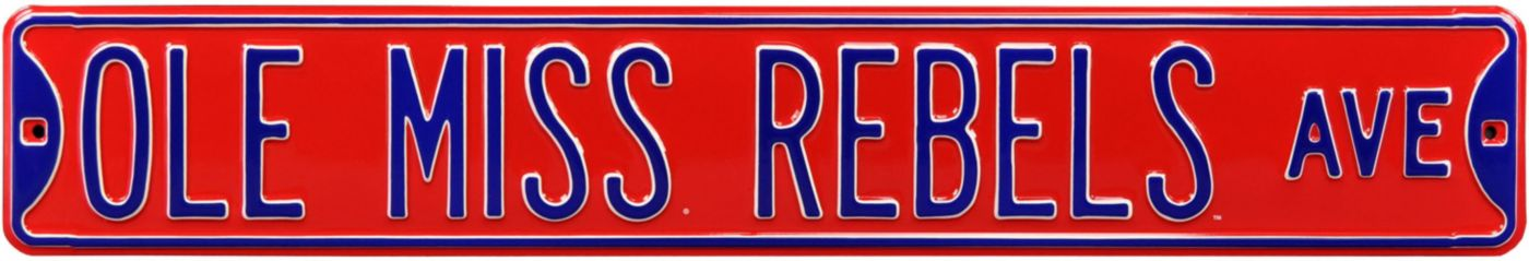 Authentic Street Signs Ole Miss Rebels Avenue Sign