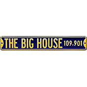Authentic Street Signs Michigan Wolverines 'The Big House' Street Sign