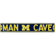 Authentic Street Signs Michigan Wolverines 'Man Cave' Street Sign