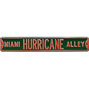 Authentic Street Signs Miami Hurricanes 'Miami Hurricane Alley' Street Sign