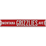 Authentic Street Signs Montana Grizzlies Avenue Sign