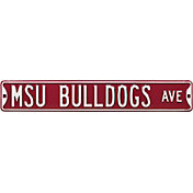 Authentic Street Signs Mississippi State 'MSU Bulldogs Ave' Sign
