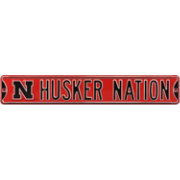 Authentic Street Signs Nebraska 'Husker Nation' Street Sign