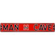 Authentic Street Signs Nebraska Cornhuskers 'Man Cave' Street Sign
