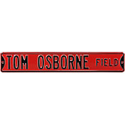 Authentic Street Signs Nebraska Cornhuskers 'Tom Osborne Field' Street Sign
