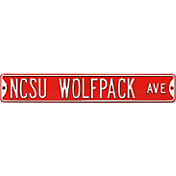 Authentic Street Signs N.C. State Wolfpack Avenue Sign