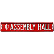 Authentic Street Signs Indiana Hoosiers 'Assembly Hall' Street Sign