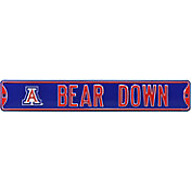Authentic Street Signs Arizona Wildcats 'Bear Down' Street Sign