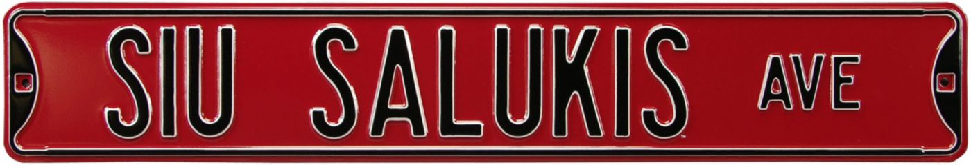 Authentic Street Signs Southerin Illinois 'SIU Salukis Ave' Sign