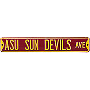 Authentic Street Signs Arizona State 'ASU Sun Devils Ave' Sign