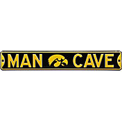 Authentic Street Signs Iowa Hawkeyes 'Man Cave' Street Sign