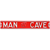 Authentic Street Signs Wisconsin Badgers 'Man Cave' Street Sign