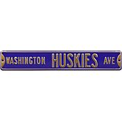Authentic Street Signs Washington Huskies Avenue Sign