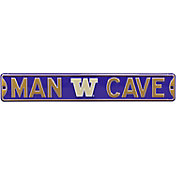 Authentic Street Signs Washington Huskies 'Man Cave' Street Sign