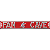 Authentic Street Signs Washington Cougars 'Fan Cave' Street Sign