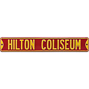 Authentic Street Signs Iowa State 'Hilton Coliseum' Street Sign