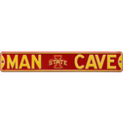 Authentic Street Signs Iowa State Cyclones 'Man Cave' Street Sign