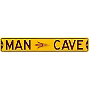 Authentic Street Signs Arizona State Sun Devils 'Man Cave' Street Sign
