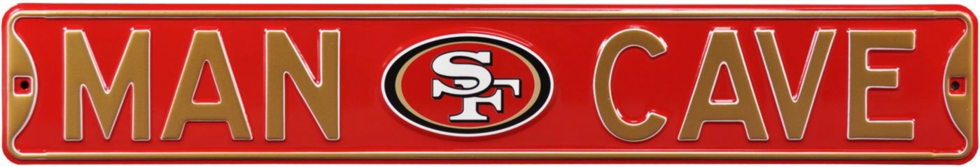 Authentic Street Signs San Francisco 49ers 'Man Cave' Street Sign