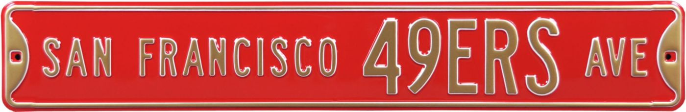 Authentic Street Signs San Francisco 49ers Avenue Sign