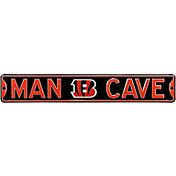 Authentic Street Signs Cincinnati Bengals 'Man Cave' Street Sign