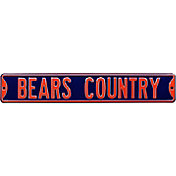 Authentic Street Signs Chicago Bears 'Bears Country' Street Sign