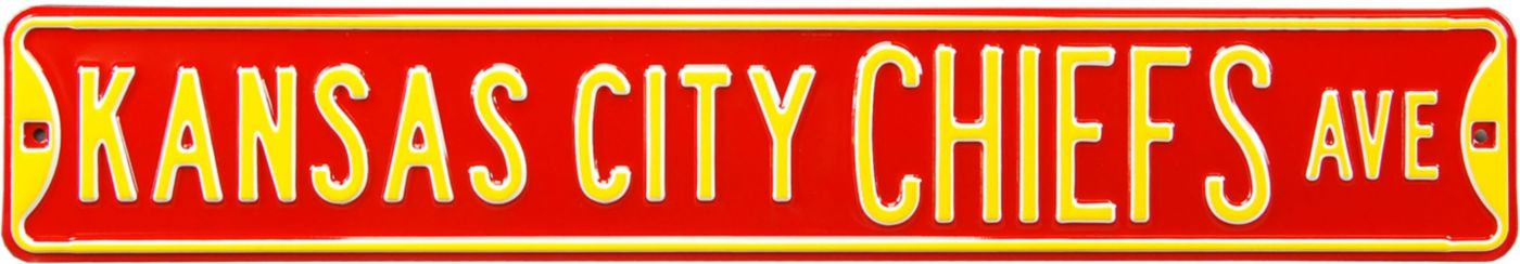 Authentic Street Signs Kansas City Chiefs Avenue Sign