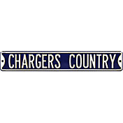 Authentic Street Signs Los Angeles Chargers 'Chargers Country' Street Sign