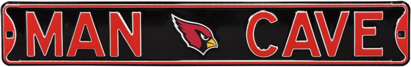 Authentic Street Signs Arizona Cardinals 'Man Cave' Street Sign