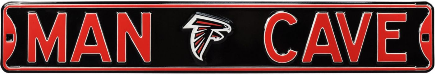 Authentic Street Signs Atlanta Falcons 'Man Cave' Street Sign