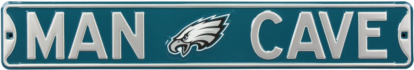 Authentic Street Signs Philadelphia Eagles 'Man Cave' Street Sign