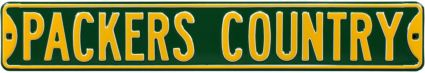 Authentic Street Signs Green Bay Packers 'Packers Country' Street Sign