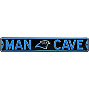 Authentic Street Signs Carolina Panthers 'Man Cave' Street Sign