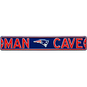 Authentic Street Signs New England Patriots 'Man Cave' Street Sign