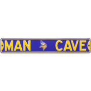 Authentic Street Signs Minnesota Vikings 'Man Cave' Street Sign