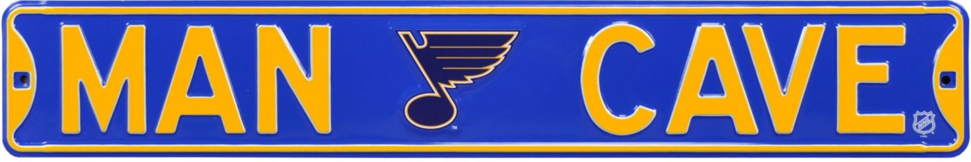 Authentic Street Signs St. Louis Blues 'Man Cave' Street Sign