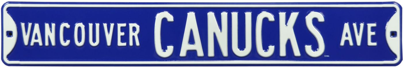 Authentic Street Signs Vancouver Canucks Ave Sign