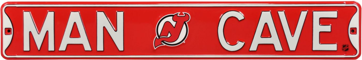 Authentic Street Signs New Jersey Devils 'Man Cave' Street Sign