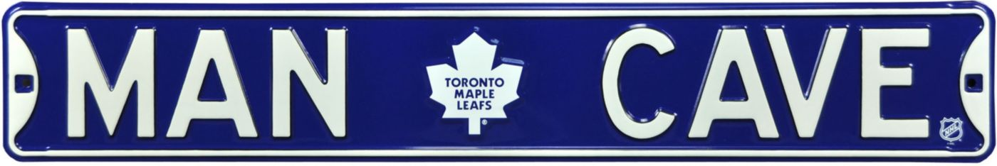 Authentic Street Signs Toronto Maple Leafs 'Man Cave' Street Sign