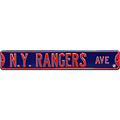 Authentic Street Signs New York Rangers Ave Sign