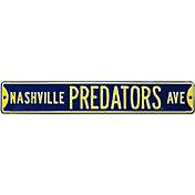 Authentic Street Signs Nashville Predators Ave Sign